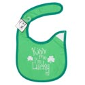 Baby Bib Kiss Me Im Lucky 12.5 X 8 Cotton (3.00)