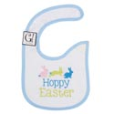 Baby Bib Happy Easter 12.5 X 8 Cotton (3.00)