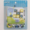 Craft Kit Tic Tac Toe Fused Beads Perler *2.99* Carded