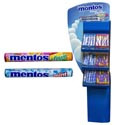 Candy Mentos Rolls 2 Flavors Mint & Mixed Fruit Flr Display