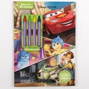 Color Book 48pg W/4 Crayons & 30 Stickers Disney *4.99* Hopes And Heroes