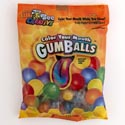 Candy Color Your Mouth Gum Balls 20ct 2.3 Oz Peg Bag #830