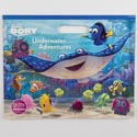 Color Floor Pad 11 X 14 32pg W/50 Stickrs Finding Dory *7.99*