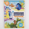 Color Book 224pg W/100 Stickers Disney Awesome Adventures *7.99*