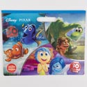 Color Floor Pad 11 X 14 32pg W/50 Stckers Disney Pixar *7.99*