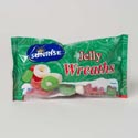 Candy Jelly Holiday Wreaths 8 Oz Laydown Bag #s8408543