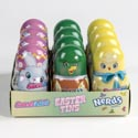 Easter Candy Tin Egg W/nerds & Sweetarts 0.4 Oz In 12pc Counter Display
