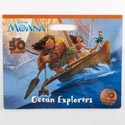 Color Floor Pad 11 X 14 32pg W/50 Stickrs Disney Moana *7.99*