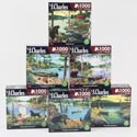 Puzzle 1000 Pc J Charles 6 Assorted Size 27x20 *12.99*