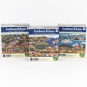 Puzzle 550 Pc Anthony Kleem 3 Assorted Size 18x24 *7.99* Ref #kar 8587