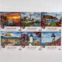 Puzzle 550 Pc Alan Giana 3 Assorted Size 18x24 *7.99* Ref #kar 8628