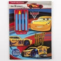 Color Book 48pg W/4 Crayons & 30 Stickers Disney Cars 3 *4.99*