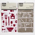 Kitchen Towel 16x25 Asst Colors And Patterns
