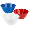 Serving Bowl Round 12 Inch Red, White, Blue In Pdq