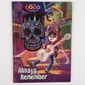 Color Book 48pg W/4 Crayons Disney Coco *5.99*