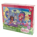 Puzzle 48pc Strawberry Shortcake Floor Size 24x36 3 Assorted