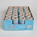 Rope Jute Twine 300ft 100% Natural On Paper Core/24pc Pdq
