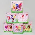 Puzzle Strawberry Shortcake 24 Pcs 6 Assorted In Case 8 X 10 # Cm-9009