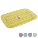 Serving Tray Rect 5 Pastel Colors 16l X 10.5w In Pdq