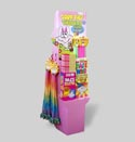 Easter Candy Twisters Sour Center Bubble Gum/candy Powder Sticks