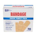 Bandages Family Pack 70ct Box Mixed Sizes In 96pc Flr Display