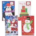 Gift Box 2pk Robe Christmas 17 X 11 X 2.5 4ast Prints Shrink W/xmas Label