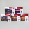 Puzzle Polaroid Collection 500pc 5 Assorted In Case 18.25 X 11