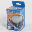 Light Bulb Led G25 5w = 40w Ge Globe Med Base *6.99* Boxed Long Life/low Energy Dimmable