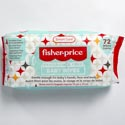 Baby Wipes 72ct Unscented Fisher Price