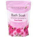Bath Soaks Rose Petals Spa Naturals 16 Oz