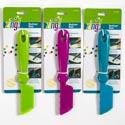 Butter Bat Zing! Assorted Colors Brush,knife,spread (2.99) Carded