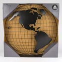 World Globe Wall Art 28in Dia. With Black Finish Ref #94100wc