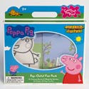 Fun Pack Peppa Pig Pop Outz 12 Color Boards,10 Markers Boxed 32 Page Pad, 25 Stickers