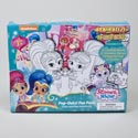 Fun Pack Shimmer & Shne Pop Outz 12 Color Boards,10 Markers Boxed 32 Page Pad, 25 Stickers