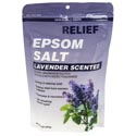 Epsom Salt Bath Soak 16oz Lavender Resealable Bag