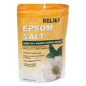 Epsom Salt 16 Oz Relief Green Tea & Chamomile Scented Made In Usa