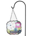 Garden Stake Resin/metal 7.75x6.5 Rememberance *28.00* W/36in Hook Stand # Ggs1-14373