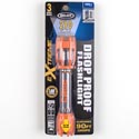 "Flashlight Led Extreme Cage Orange *24.99* See N2 3d Shock System ""try Me"" Carded"