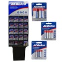Batteries Ac Delco 160ct Display Heavy Duty 5 Asst Styles