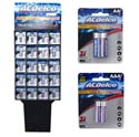Batteries 2pk Alkaline 176pc Display 2 Asst Ac Delco See N2