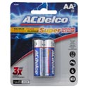 Batteries Aa 2pk Alkaline Ac Delco Carded