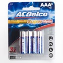 Batteries Aaa 8pk Alkaline Ac Delco Carded