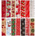 Gift Wrap Christmas 40 Sq Ft 6 Asst 40in Wide Ppd $3.99 1.5 Inch Core Made In Usa