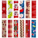 Gift Wrap Christmas 40 Sq Ft 30 Inch Wide 6 Asstd Ppd 3.99 1.5 Inch Core Made In Usa