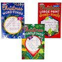 Word Find Christmas 2asst Lg Print Or Regular In Pdq Ppd $3.95