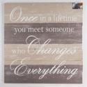 Wall Decor Changes Everything 24x24 Wood *24.99*