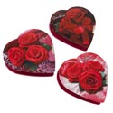 Valentine Candy Chocolate Heart Spanish Rose And Lace 2.0 Oz Pdq