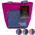 Cooler 9 Can Tote W/pocket Insulated 4 Assorted See N2 Polar Pack