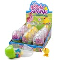 Easter Candy Hoppin Surpris Wind Up Toy In Egg Container 12pc Pdq