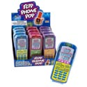 Lollipop Flip Phone Pop 3 Asst 12ct Counter Display